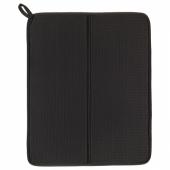 НЮХОЛИД Коврик для сушки посуды, темно-серый, 44x36 см