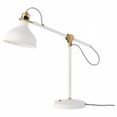 РАНАРП Лампа рабочая,белый с оттенком