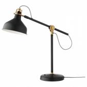РАНАРП Лампа рабочая,черный