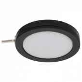 ОМЛОПП Софит светодиодный, черный, 6.8 см