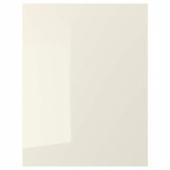 ВОКСТОРП Накладная панель, глянцевый светло-бежевый, 62x80 см