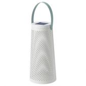 СОЛВИДЕН Напольн светодиод светильник/слн бт, конусообразный белый, 45 см