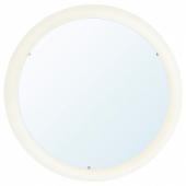 СТОРЙОРМ Зеркало с подсветкой, белый, 47 см