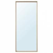 НИССЕДАЛЬ Зеркало, под беленый дуб, 65x150 см