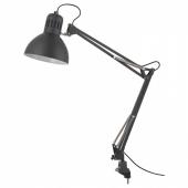 ТЕРЦИАЛ Лампа рабочая,темно-серый