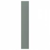 БОДАРП Накладная панель, серо-зеленый, 39x240 см