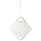 СОЛВИДЕН Подвесная светодиодная лампа, для сада шаровидный, в форме алмаза, 30 см